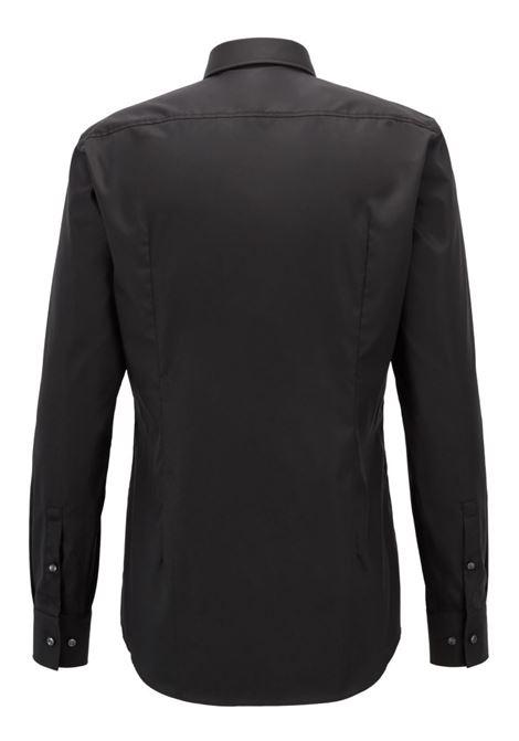 Slim-fit business shirt in cotton poplin BOSS | Shirts | 50327693001