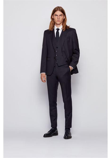 Slim fit business shirt in cotton poplin BOSS | Shirts | 50327693100