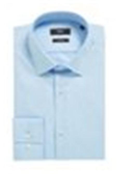 Slim fit business shirt in cotton poplin BOSS | Shirts | 50327693450