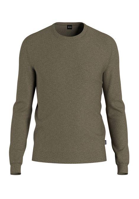 Virgin wool sweater  BOSS | Knitwear | 50378575240