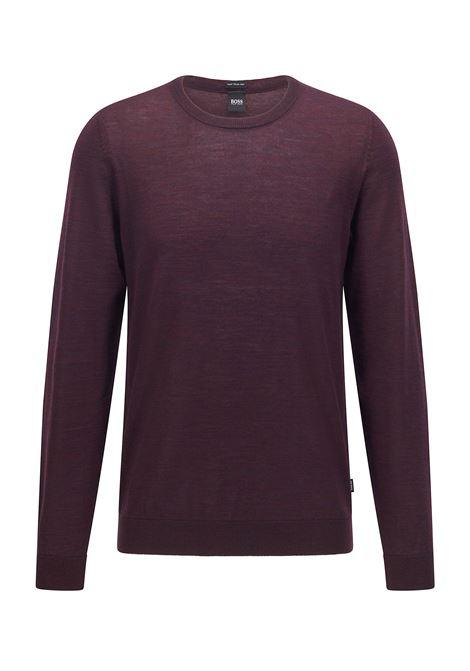 Maglione girocollo in lana vergine BOSS | Maglieria | 50378575511