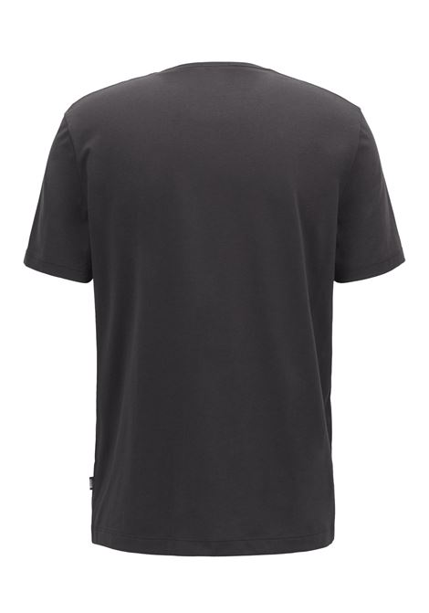 Pure cotton crew neck T-shirt with fluid finish BOSS | T-shirt | 50379310001