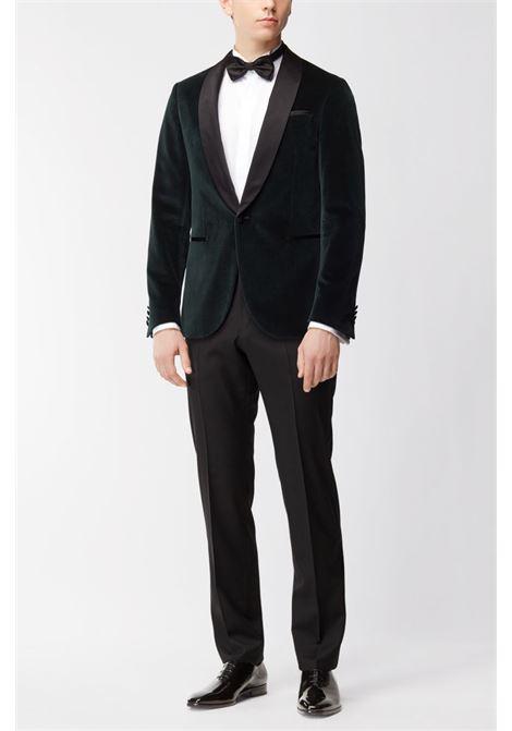 Ledan Pantaloni formali regular fit in lana vergine BOSS | Pantaloni | 50379911001