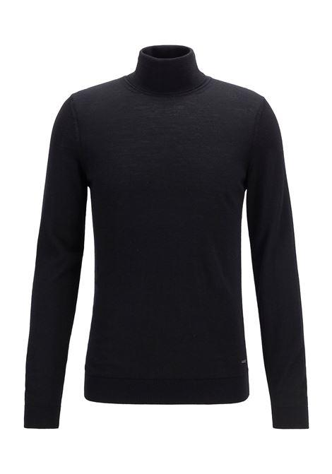 Merino wool turtleneck sweater BOSS | Knitwear | 50392083001