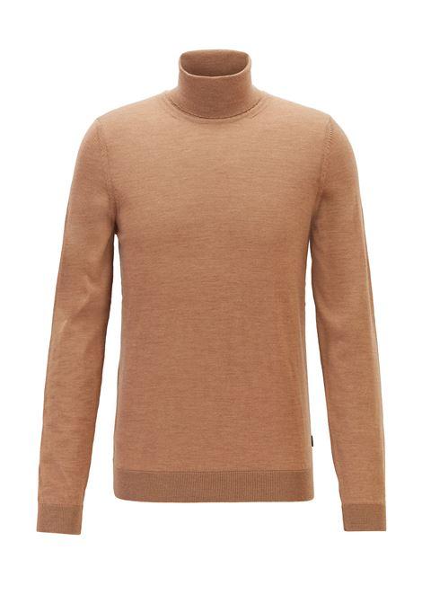 Merino wool turtleneck sweater BOSS | Knitwear | 50392083262