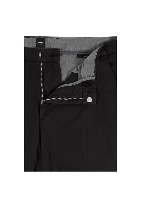 Slim fit chinos in stretch cotton gabardine BOSS | Pants | 50410310001