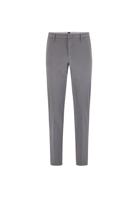 Slim fit chino trousers in stretch cotton gabardine BOSS | Pants | 50410310029