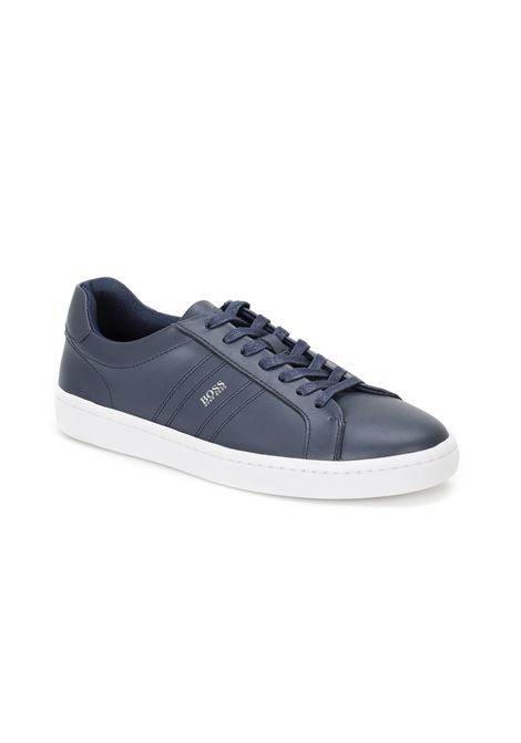 Italian-made leather Derby shoes with Outlast® lining BOSS | Sneakers | 50454986402
