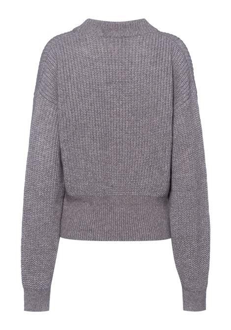 Short sweater in wool and alpaca yarn BOSS | Knitwear | 50456918040