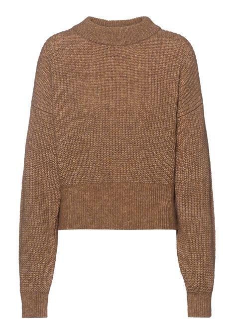 Short sweater in wool and alpaca yarn BOSS | Knitwear | 50456918235