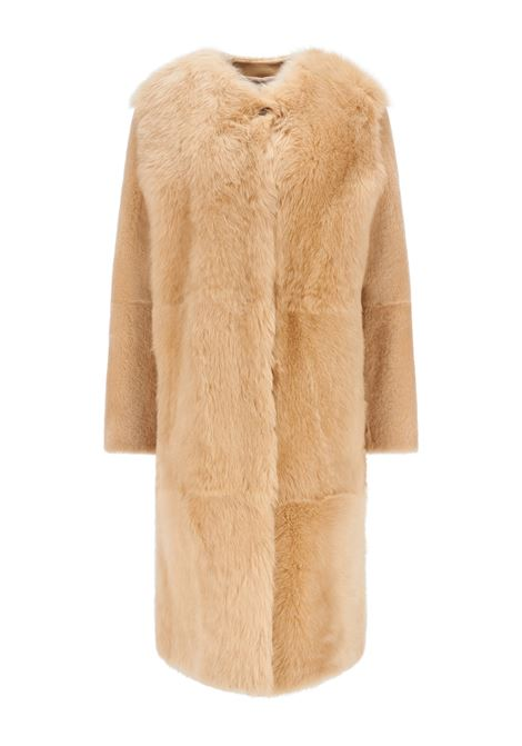 Relaxed fit shearling coat in different lengths BOSS | Overcoat | 50457092277
