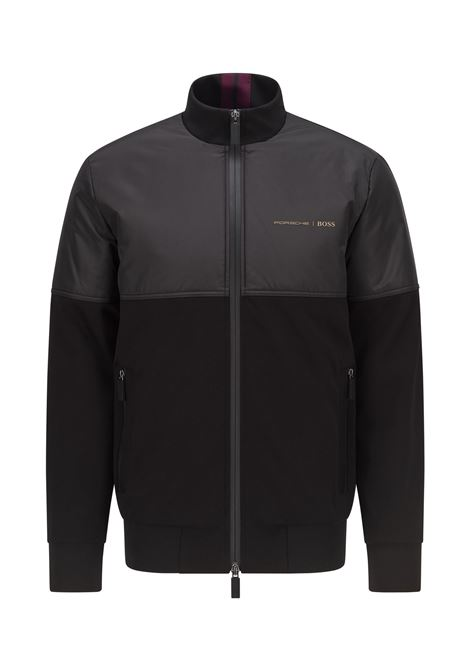 Jacket with high collar and zip from the Porsche capsule BOSS | Jackets | 50457276001