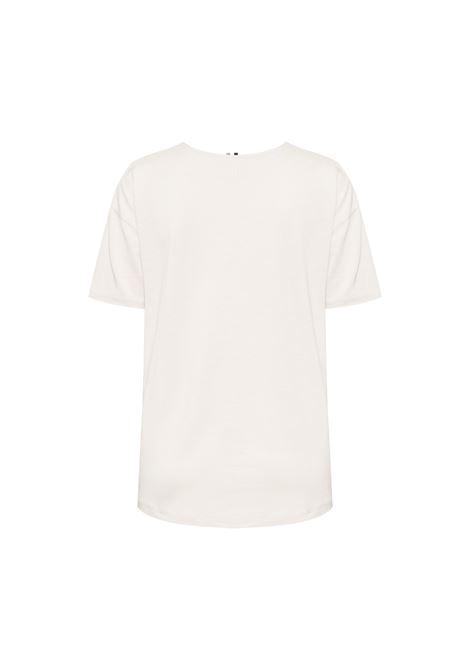 T-shirt con contrasti in seta BOSS | T-shirt | 50457656118
