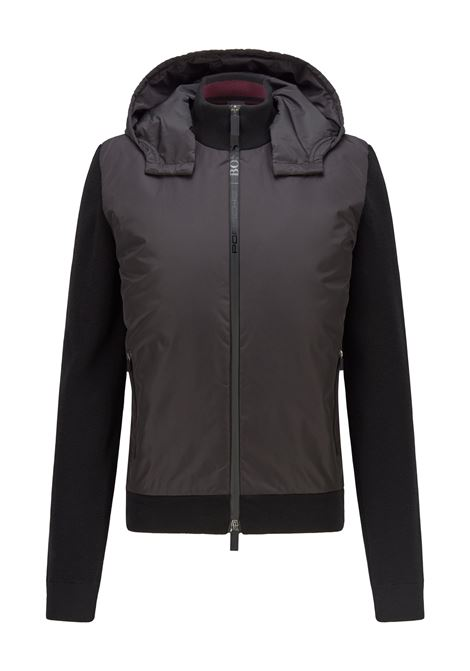 Hybrid jacket with zip with logo and detachable hood BOSS | Jackets | 50457689001