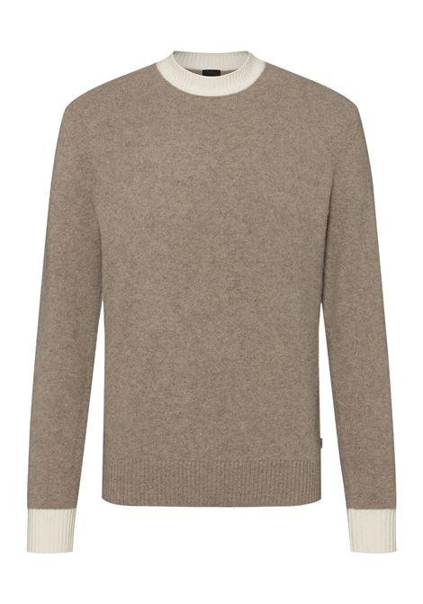 Maglione a girocollo in lana vergine e cachmere BOSS | Maglieria | 50457709240
