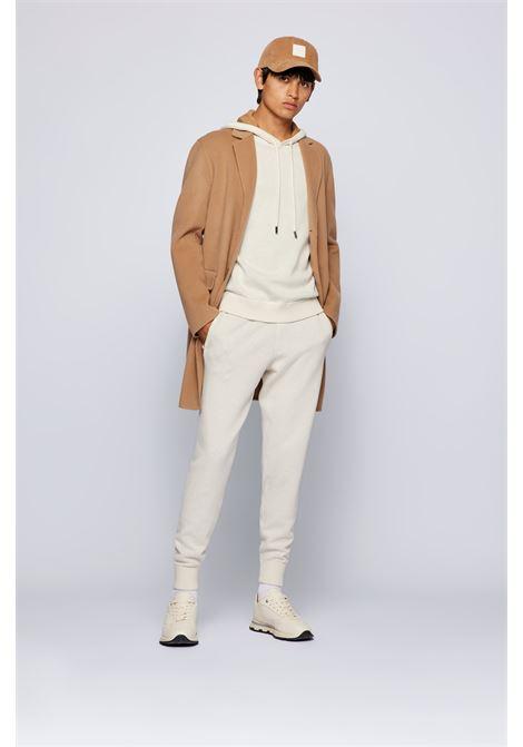 Maglione con cappuccio in misto lana vergine BOSS | Maglieria | 50457715131