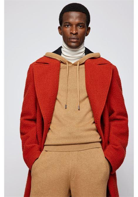Maglione con cappuccio in misto lana vergine BOSS | Maglieria | 50457715262