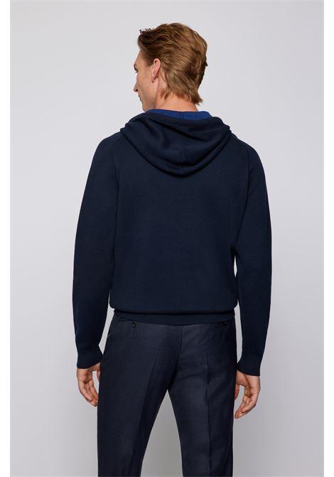Maglione con cappuccio in misto lana vergine BOSS | Maglieria | 50457715404