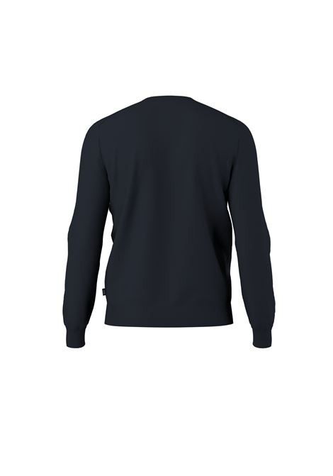 Regular fit virgin wool crewneck sweater BOSS | Knitwear | 50457754402