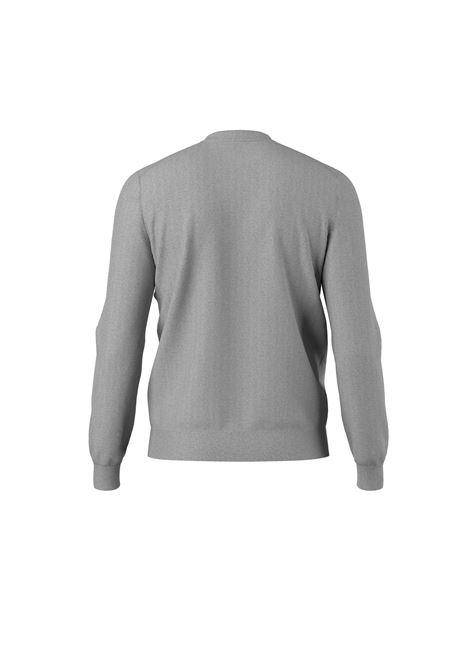 Regular fit crew neck sweater with virgin wool profile BOSS | Knitwear | 50457756041