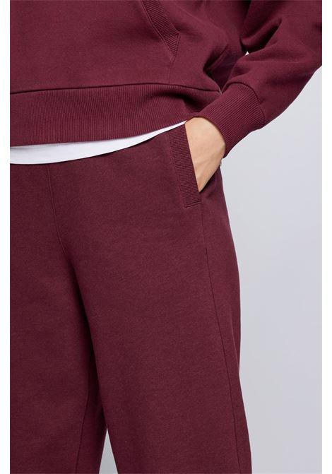 Pantaloni da tuta in jersey di cotone e lana BOSS | Pantaloni | 50457837602