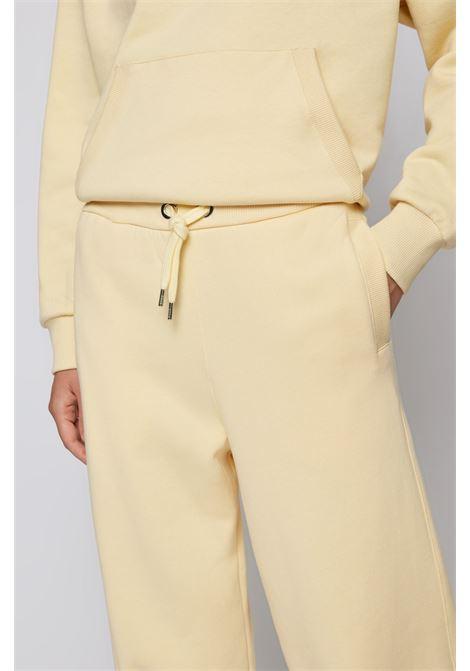 Pantaloni da tuta in jersey di cotone e lana BOSS | Pantaloni | 50457837745