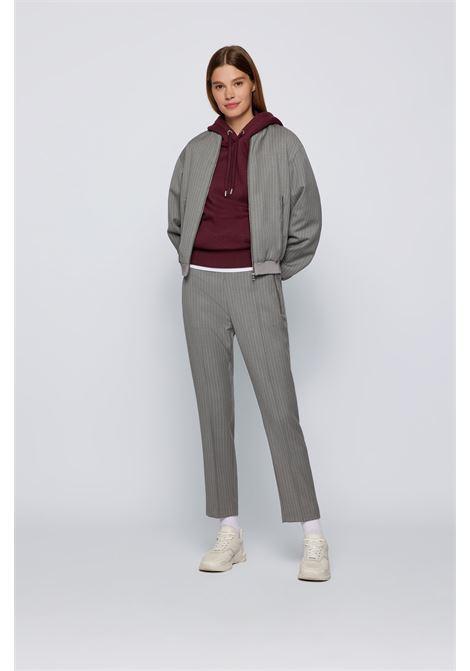 Cotton and wool jersey sweatshirt BOSS | Knitwear | 50457838602