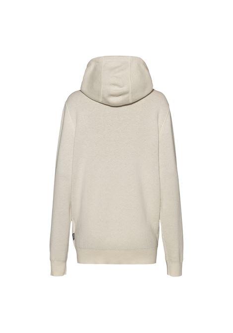 Cardigan with hood and zip in virgin wool blend BOSS | Knitwear | 50458466131