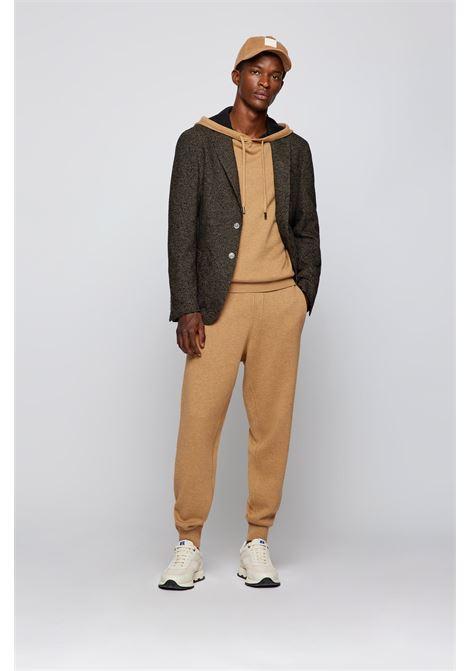 Slim fit jacket in wool blend micro check BOSS | Blazers | 50458764262