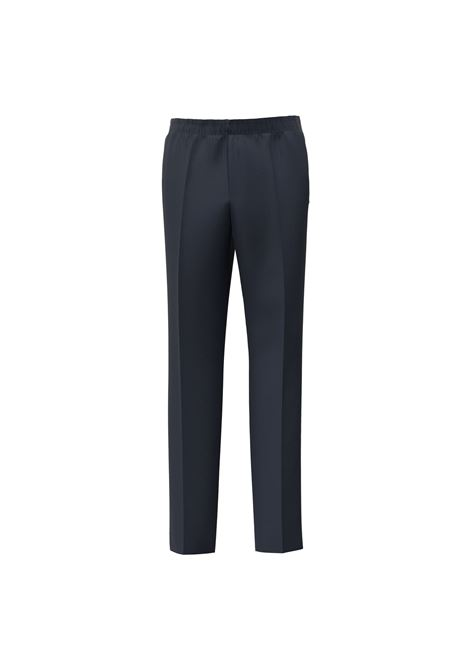 Business trousers in dark blue shaved wool BOSS | Pants | 50458828404