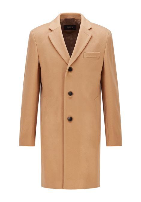 Slim fit coat in virgin wool with cashmere BOSS | Overcoat | 50459022262