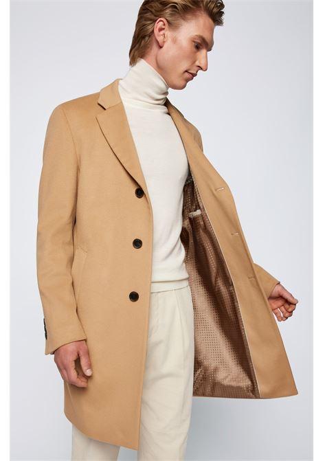 Cappotto slim fit in lana vergine con cashmere BOSS | Cappotti | 50459022262