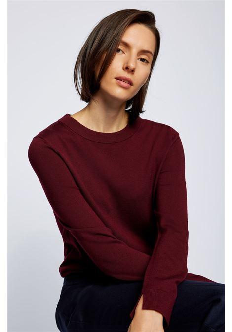 Virgin wool crewneck sweater BOSS | Knitwear | 50459477602