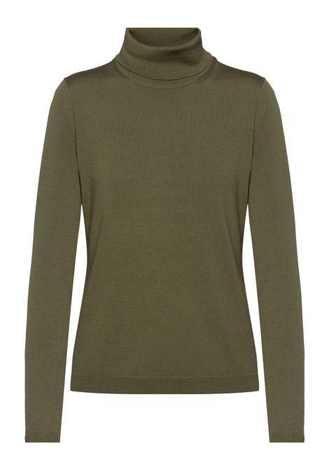 Slim fit turtleneck sweater in merino wool BOSS | Knitwear | 50459502303