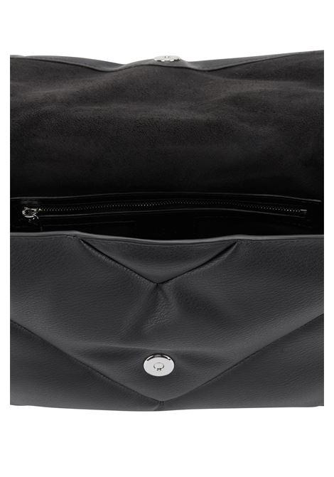 Borsa clutch in similpelle con impunture e fibbia magnetica BOSS | Borse | 50459571001