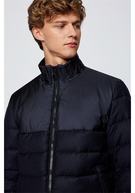 Short padded jacket in mixed materials BOSS | Jackets | 50459578401