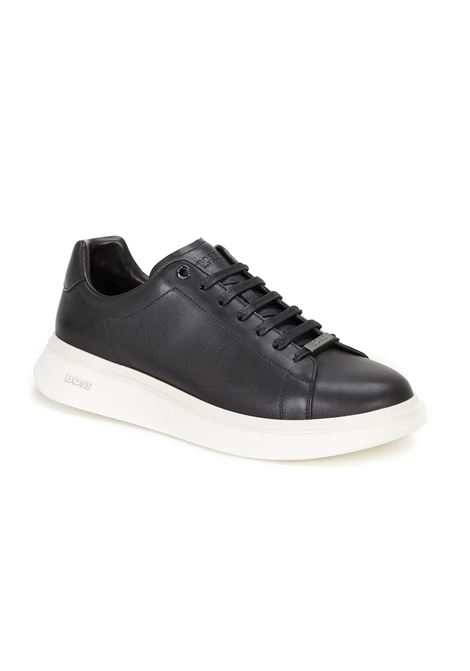 Runner-style sneakers in leather BOSS | Sneakers | 50460006001