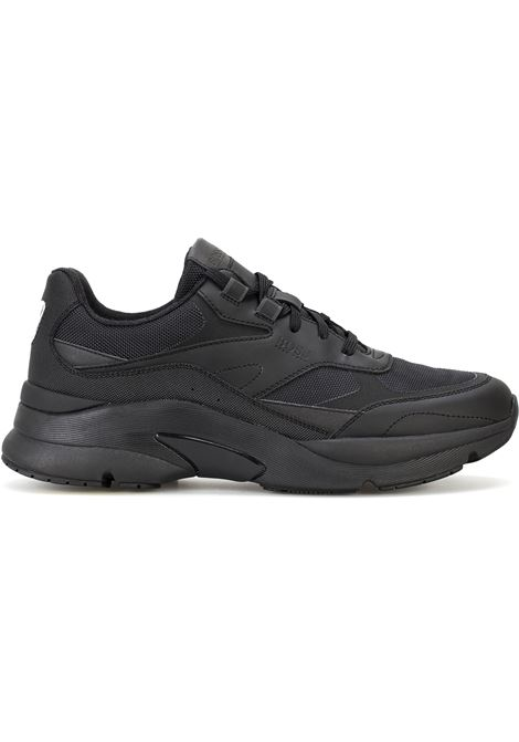 Atletical trainers in leather BOSS | Sneakers | 50460165001