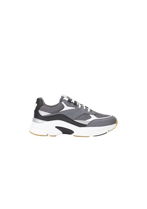 Atletical trainers in leather BOSS | Sneakers | 50460165060