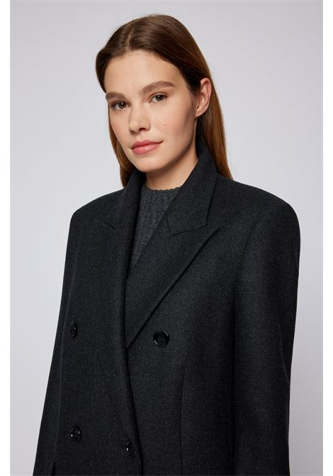 Double-breasted coat in virgin wool and cashmere BOSS | Overcoat | 50462136062