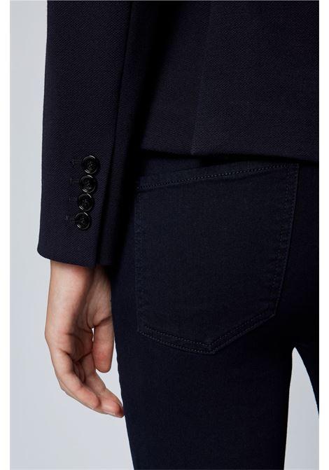 Giacca doppiopetto regular fit in tessuto elasticizzato BOSS | Giacche | 50464196466