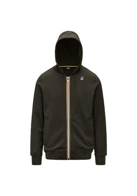Anthony Cotton sweatshirt with hood and zip K-WAY | Sweatshirt | K1121GW890