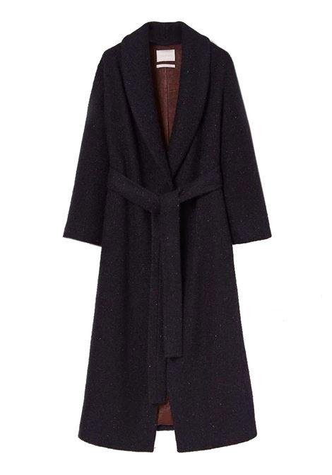 Cappotto in resca di lana bouclè con effetto strappato MOMONI | Cappotti | MOC00058018