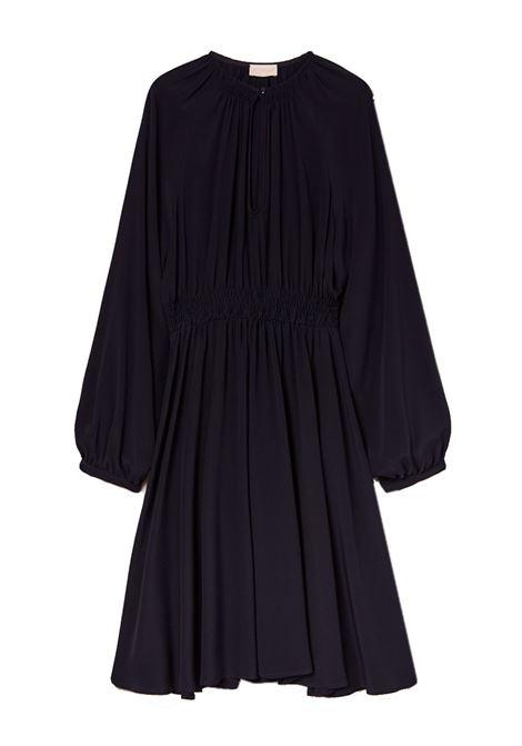 Short dress in black silk blend crepe MOMONI |  | MODR0130990