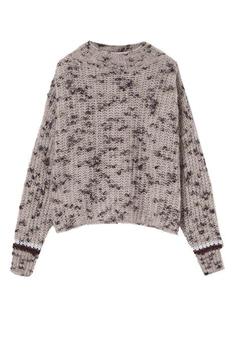 Maglione girocollo in mohair e lana merinos MOMONI   Maglieria   MOKN0250095