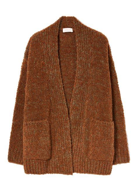 Cardigan aperto in filato di alpaca e lana MOMONI   Maglieria   MOKN0300145