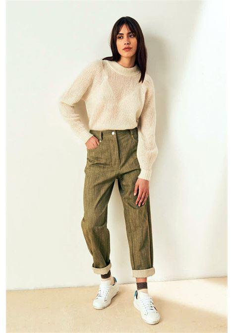 Pantalone in denim stretch MOMONI | Pantaloni | MOPA0120760
