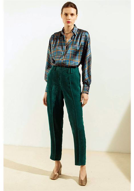 Pantalone a sigaretta in velluto a coste MOMONI | Pantaloni | MOPA0230755