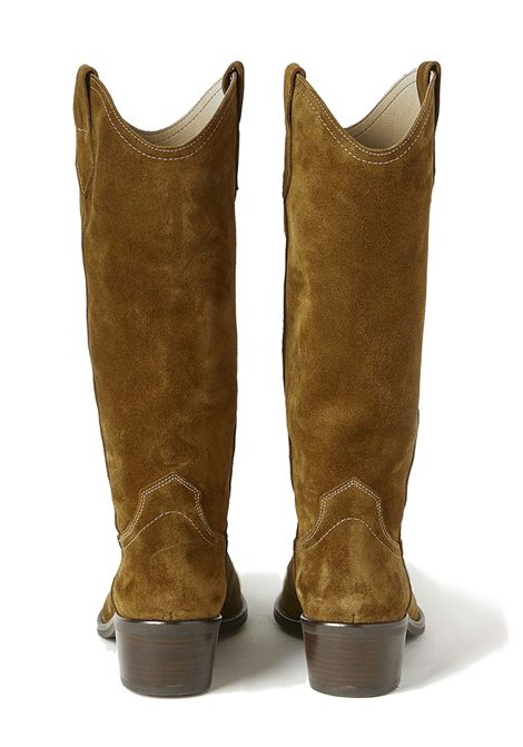 Taxani boots in greased suede MOMONI | Boots | MOSS0030640