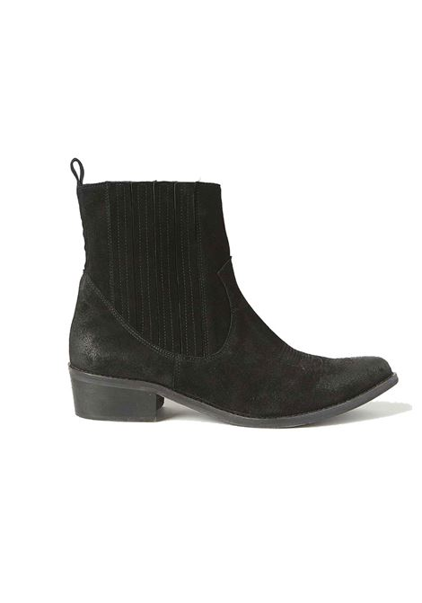 Taxani boots in aged suede MOMONI | Ankle Boots | MOSS0040990